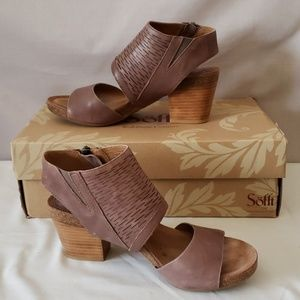 New with Box Sofft leather sandals